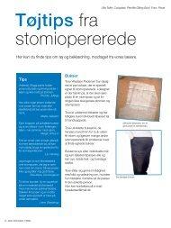 Tøjtips fra stomiopererede - Coloplast