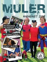 Kendt muler - Mulernes Legatskole