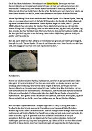 En af de sidste huleboere i Vendsyssel var Søren Rynke. Som type ...
