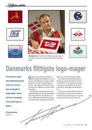 Danmarks flittigste logomager - Flemming Sørensen