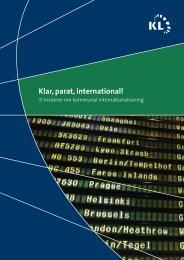 KL's Klar, parat, international! - Det Syddanske EU-Kontor