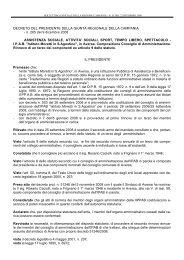 SOCIALI, SPORT, TEMPO LIBERO, SPETTACOLO - I.P.A.B.