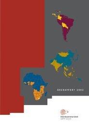 Årsrapport 2003 - Ulandssekretariatet