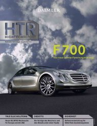 F700 Das neue Daimler-Forschungsfahrzeug - Daimler Technicity