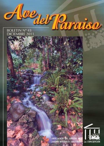 43 - Asociación de Amigos del Jardín Botánico - Histórico La ...