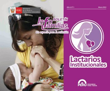 Boletín INFOFAMILIA 2013 - 1 (FINAL) - Ministerio de la Mujer y ...