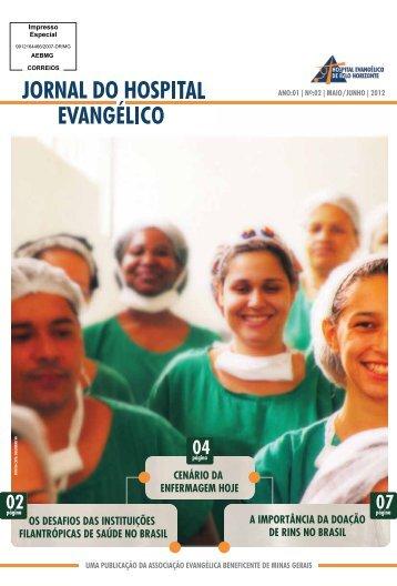 Jornal do Hospital Evangélico maio/junho 2012