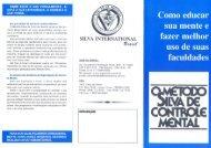 O Método Silva de Controle Mental - Método Silva Brasil