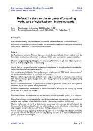 Referat - Ejerforeningen EF1386