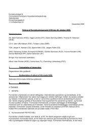 Kontaktudvalget til Forsvarskommandoens Hovedsamarbejdsudvalg ...