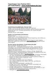 Tekst CJF 2011 - Rytmisk Musikkonservatorium