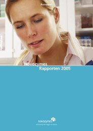 Novozymes Rapporten 2005