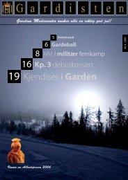 16 Kjendiser i Garden - Hans Majestet Kongens Garde
