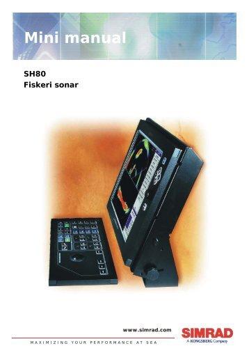 MiniManual Simrad English - Download Instructions Manuals