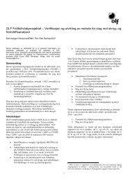 Verifikasjon og utvikling av metode for slag mot skrog - Norsk olje og ...
