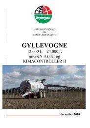 GYLLEVOGNE - Thyregod A/S