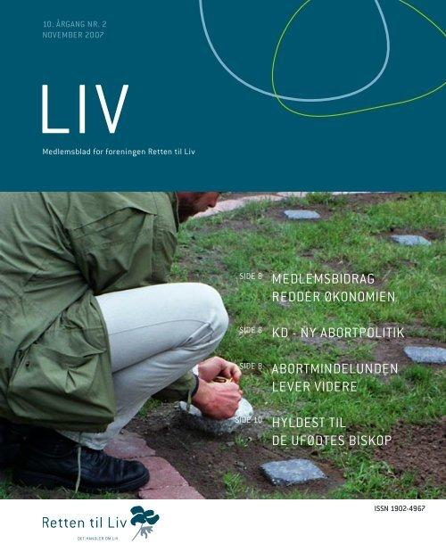 November 2007 - Retten til liv