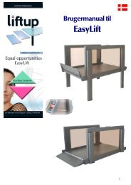 EasyLift brugermanual - liftup