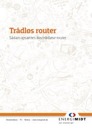 Trådløs router - EnergiMidt