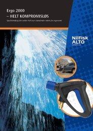 Ergo 2000 – HELT KOMPROMISLØS - Nilfisk-ALTO