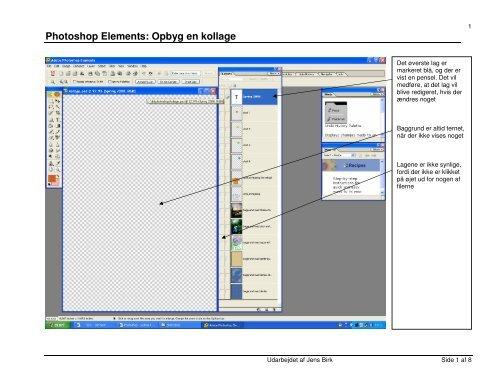 Photoshop Elements: Opbyg en kollage