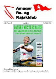 Juli 2004 - Amager ro- og kajakklub
