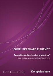 Generalforsamling - Computershare