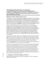 Styrelsens för Aerocrine AB förslag till beslut om (A