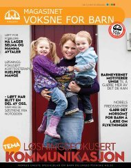(Pdf) Magasinet Voksne for Barn 03/2011