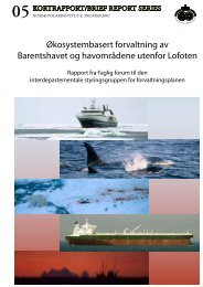 Første rapport 1. april 2007 (PDF, 1,5 MB) - Norsk Polarinstitutt
