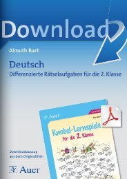 Deutsch - Auer Verlag