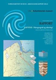 HAVVIND - Paleogeografi og arkeologi - Norsk Maritimt Museum