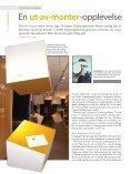 Førstereis Tema: Spill og læring - Museumsnytt - Page 6