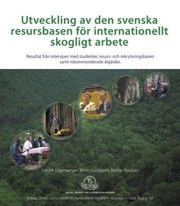 Utveckling Int resursbasen - SIFI