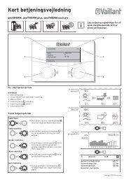 geoTHERM-3 kvikguide.pdf - Vaillant