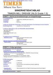 Timken Mill Grease (NLGI Grade 1.5) SE