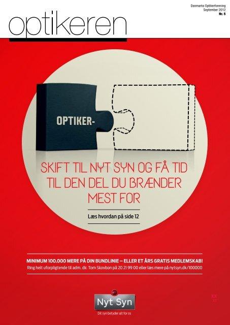 Læs seneste nummer af optikeren online - Danmarks Optikerforening