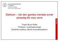 Torgeir Bruun Wyller om Delirium.pdf - Helse Nord