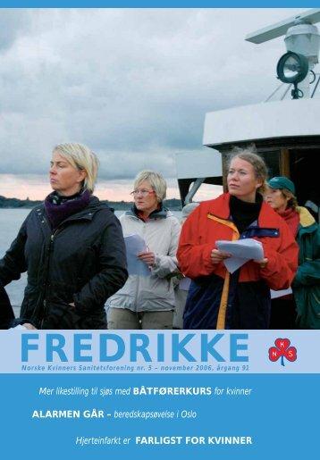 Fredrikke nr 5 - 2006 - Norske Kvinners Sanitetsforening