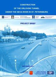 Orlovski Tunnel Project Brief