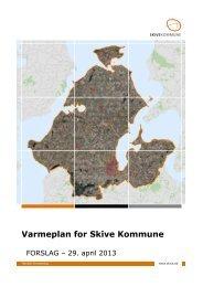 Varmeplan for Skive Kommune - Energibyen Skive