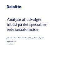Deloitte - Foreningen af Danske Døgninstitutioner for Børn og Unge