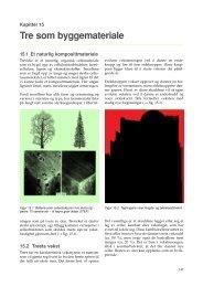 Kapittel 15: Tre som byggemateriale