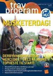 5. maj 2013 MUSKETERSØNDAG - Skive Trav