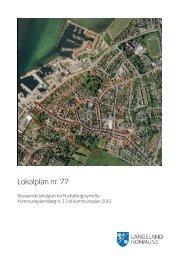 Bevarende lokalplan for Rudkøbing