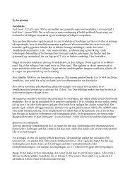 Regler om forældelse - Byggeskadefonden