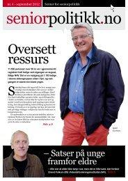 Oversett ressurs - Senter for seniorpolitikk