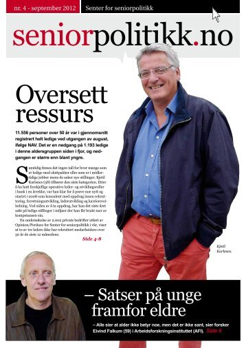 Oversett ressurs - Senter for seniorpolitikk
