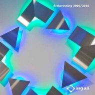 Årsberetning 2009/2010 - SSG