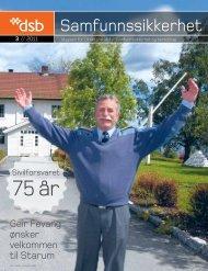 Samfunnsikkerhet nr 3 - 2011 (pdf) - Direktoratet for ...